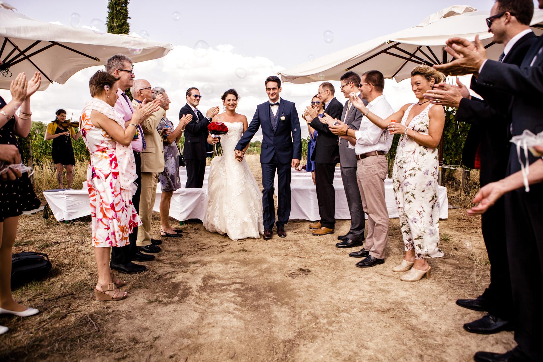 Hochzeitsfotos in der Toskana